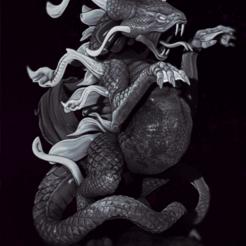 05.png Download STL file Sythiss The Swamp Dragon • 3D printing design, drahoslibor