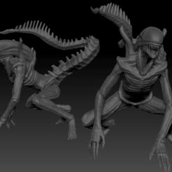 ALIEN2018.png Download STL file Alien  • 3D printer model, drahoslibor