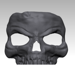 Download free 3D printing models Skull Mask - Face of Evil #1, drahoslibor