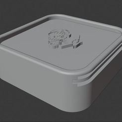 small_box.JPG Download free STL file Lithophane Light Box • 3D printer model, Groone