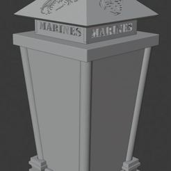 lantern_design.jpg Download free STL file Marine Crucible Lantern - Lithophane • 3D printer design, Groone