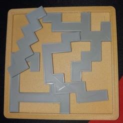 1116200406~2.jpg Télécharger fichier STL gratuit Puzzle de bâtons • Objet imprimable en 3D, Groone
