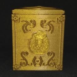 Descargar modelos 3D para imprimir LEO PANDORA'S BOX SAINT SEIYA, hxh_dna_dbz