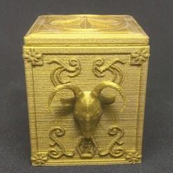 Download 3D printing designs CAPRICORN PANDORA'S BOX SAINT SEIYA, hxh_dna_dbz