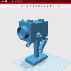Free 3D printer files Butter robot, cool80652