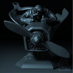 1.jpg Download STL file GYROCOPTER BUST DOTA 2 • 3D printing model, raven-studios