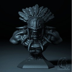 42.jpg Download STL file BLOODSEEKER BUST DOTA 2 • 3D print object, raven-studios