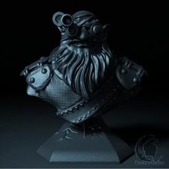 53.jpg Download STL file SNIPER BUST DOTA 2 • 3D print design, raven-studios