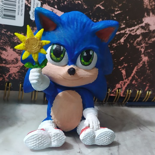 Download 3d Printing Templates Baby Sonic Sonic The Hedgehog Cults