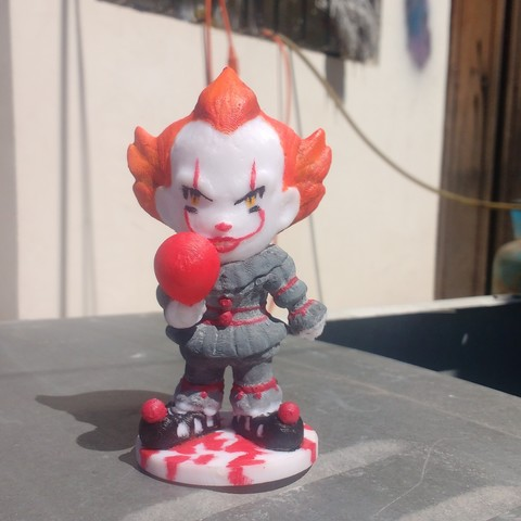 Download STL files IT Pennywise, awmadnessDiego