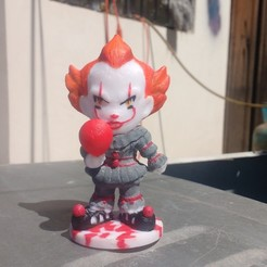 Télécharger fichier impression 3D IT Pennywise, awmadnessDiego