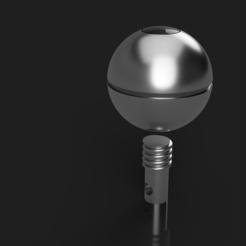ball.PNG Télécharger fichier STL gratuit Jouet à agiter Grogu Razor Crest • Plan pour imprimante 3D, Pipboy57