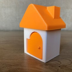 Download 3D printing templates Toy House, AlmasRobotics