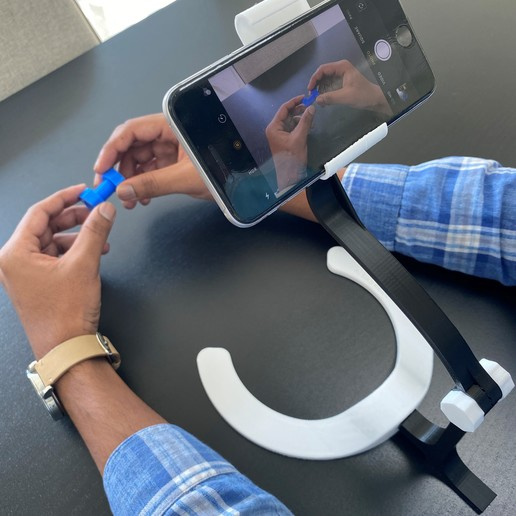 Download 3D printer model Smartphone Stand for Video Recording, AlmasRobotics