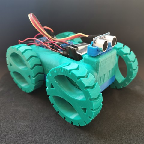 STL M Second - Robot Car, AlmasRobotics