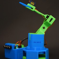 3D print model M First - Educational Robotic Arm , AlmasRobotics