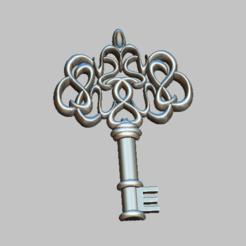 Download 3D printer designs Key,3D STL file, nounousky