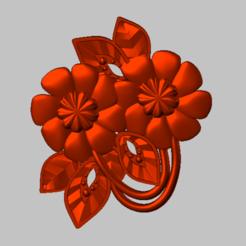 4.png Download STL file flower, pink STL file • 3D printable design, nounousky