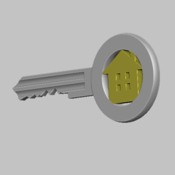2.png Télécharger fichier STL Key STL file • Objet pour impression 3D, nounousky