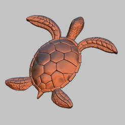 Descargar modelos 3D para imprimir Tortuga, Tortuga 3D archivo STL, nounousky