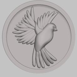 1.png Télécharger fichier STL bird,oiseaux stl file • Objet imprimable en 3D, nounousky
