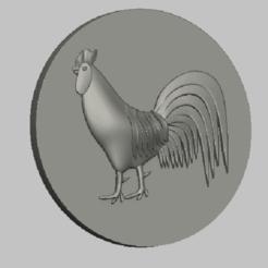 1.png Download STL file cock, coq,stl file • 3D printer design, nounousky