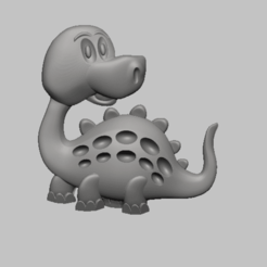 1.png Download STL file Dinosaur 3d Relief STL file • Template to 3D print, nounousky