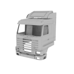 Descargar modelo 3D Cabina Scania 143M, LaythJawad