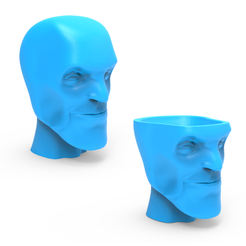 Download STL files Head Vase, LaythJawad