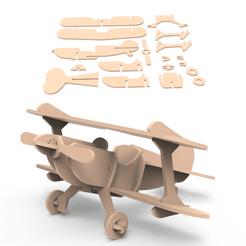 00.png Télécharger fichier 3DS Avion • Objet pour imprimante 3D, LaythJawad