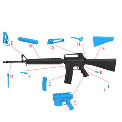 Descargar modelos 3D M16, LaythJawad