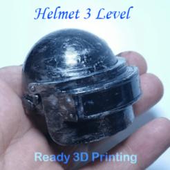 Download 3D printing models Level 3 Helmet, LaythJawad