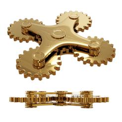 Download 3D printer designs SPINNER GEARS, LaythJawad