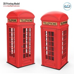 00.jpg Download 3DS file Phone Booth • 3D printer design, LaythJawad