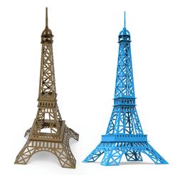 00.png Download 3DS file Eiffel tower 3D Model • 3D print model, LaythJawad