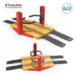 00.jpg Download 3DS file Car Lifter • Model to 3D print, LaythJawad