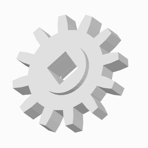 Download 3D printing files GEAR 12T, LaythJawad