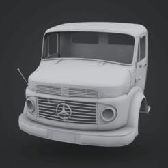 Download STL Mercedes-Benz Truck 1924, LaythJawad