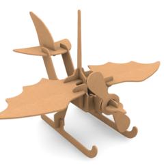Download 3D printing templates Plane CNC KIT, LaythJawad