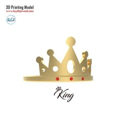 01.jpg Download STL file King Ring • 3D print design, LaythJawad