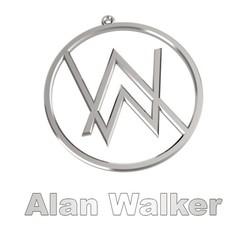 00.jpg Télécharger fichier GCODE Alan Walker - Collier - Médaille • Plan imprimable en 3D, LaythJawad