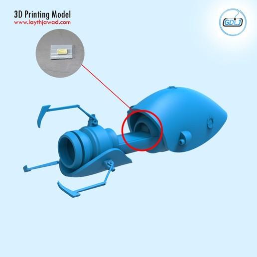05.jpg Télécharger fichier STL Pistolet à portail • Modèle imprimable en 3D, LaythJawad