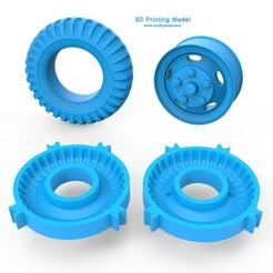00.jpg Télécharger fichier 3DS Moule à pneu - Roue • Design pour imprimante 3D, LaythJawad