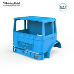 01.jpg Télécharger fichier STL Cabine du MAN F8 • Design pour imprimante 3D, LaythJawad