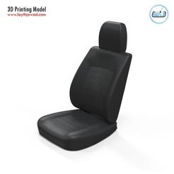 01.jpg Download STL file Car seat • Object to 3D print, LaythJawad