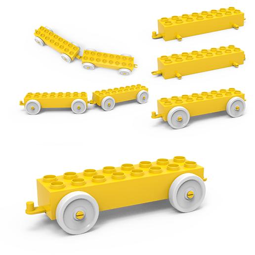 Download 3D Printer Designs LEGO CAR ・ Cults