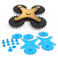 00.png Télécharger fichier 3DS Engrenages de filage • Modèle pour impression 3D, LaythJawad
