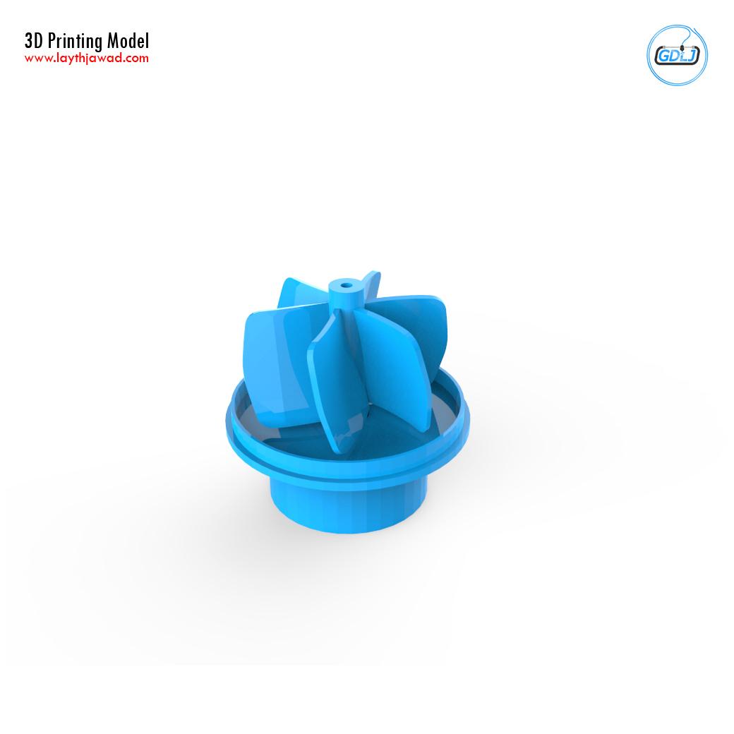 05.jpg Download STL file Water Pump • 3D print design, LaythJawad