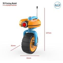 01.jpg Descargar archivo STL Robot VU • Modelo para la impresora 3D, LaythJawad