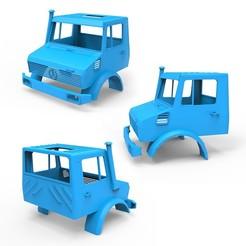 010.jpg Télécharger fichier 3DS Mercedes Benz Unimog U 1200 • Objet imprimable en 3D, LaythJawad